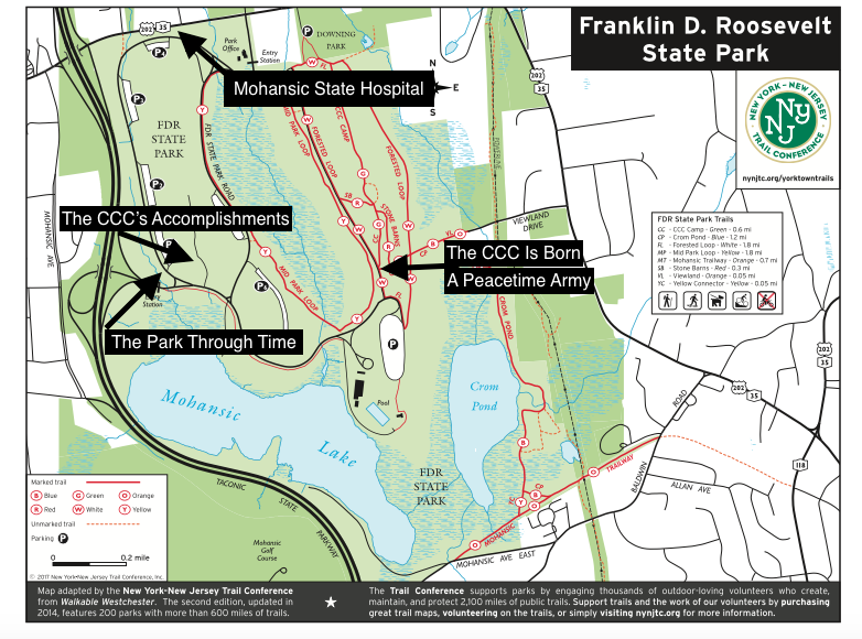 FDR Sign Map